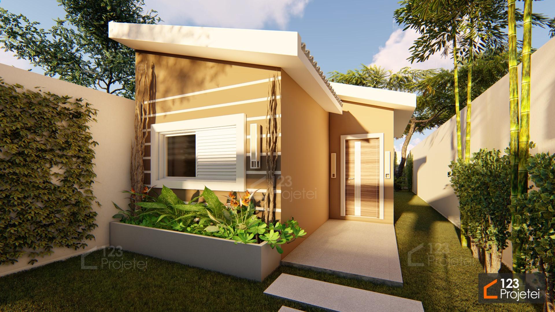 Projetos para casas pequenas: plantas de até 60m²
