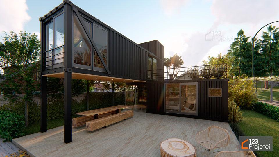 Casa Container: saiba as vantagens e tipos existentes
