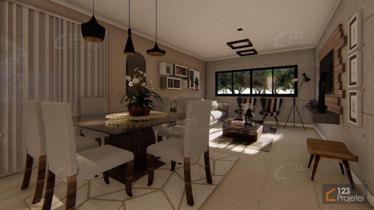 Modelos de ambientes integrados para a sua casa