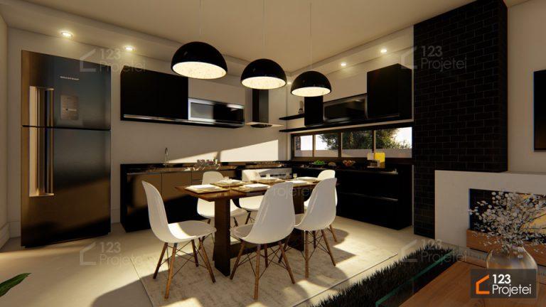 Design de Interiores para cozinha: Revestimentos, móveis planejados e muito mais