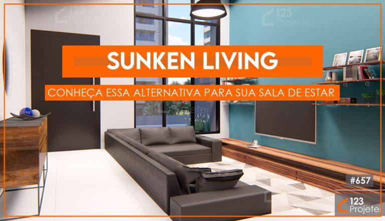 Sunken Living: conheça essa alternativa para a sua sala de estar!