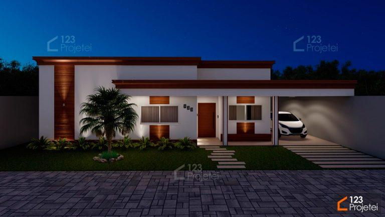 Construa uma casa pequena inicialmente e depois amplie com o Projeto Modulado