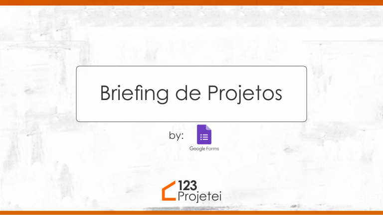 Briefing – Projeto Arquitetônico Modificado