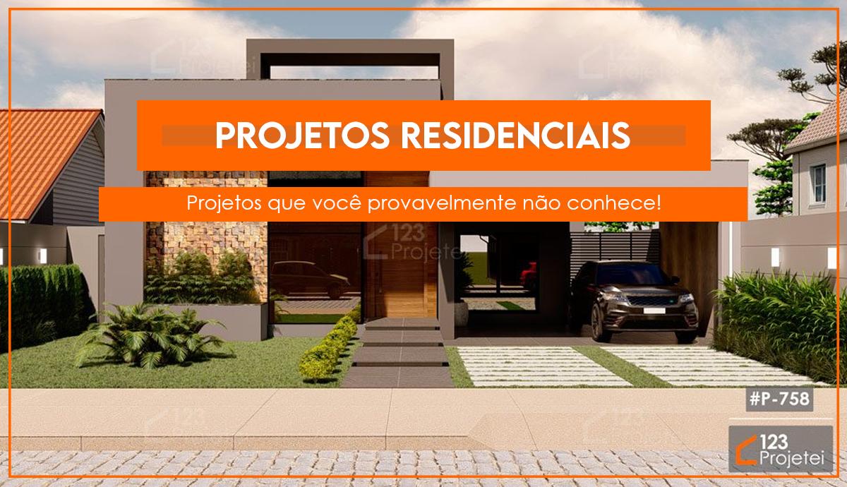 Projetos residenciais que você provavelmente não conhece