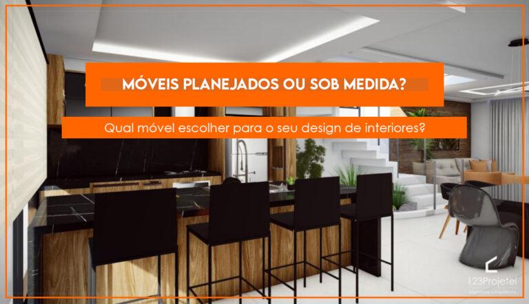 Móveis planejados ou móveis sob medida? Qual é a melhor opção?