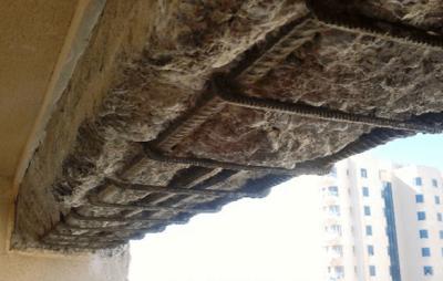 carbonatação no concreto patologia