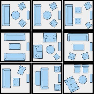 layout sala de estar