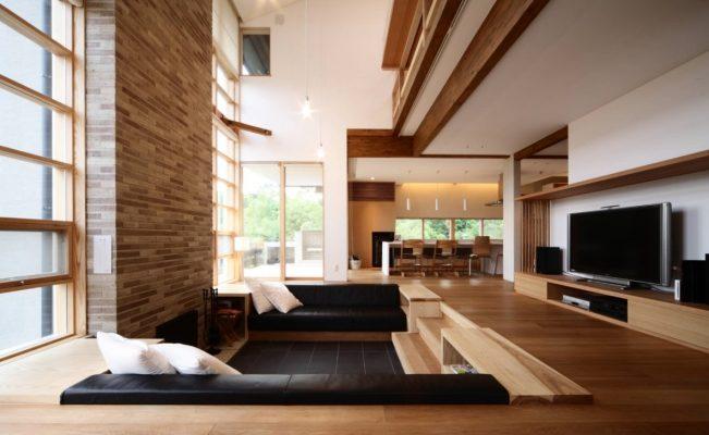 sunken-living-room