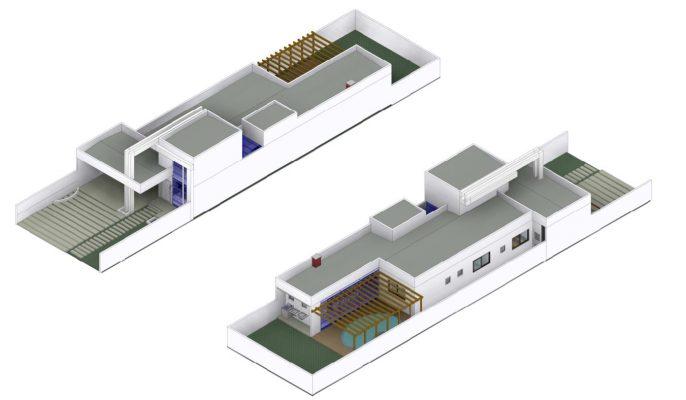volumetria 3D projeto